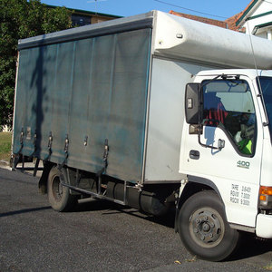 Truck With Work