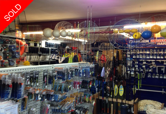 FISHING SUPPLIES - SOLID INVESTMENTl SOLD