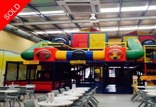 Indoor Children's Play Centre and Café l SOLD